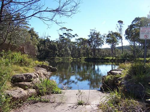 Pond behind Starboard Avenue Bensville