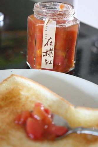 在叢紅--紅心芭樂果醬