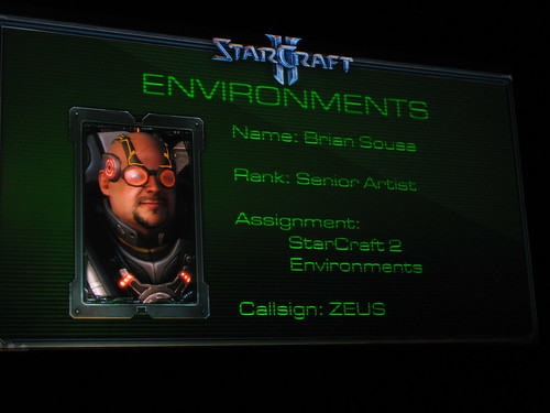 StarCraft 2 Art Panel - BlizzCon 2009