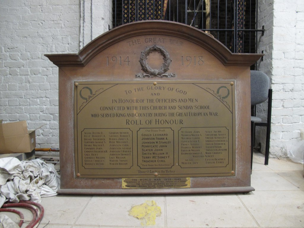 Stockwell Green URC War Memorial