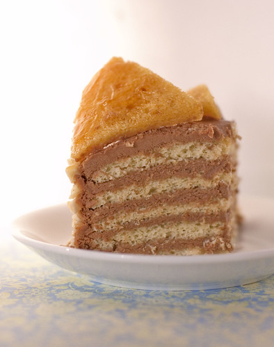 dobos torte - slice