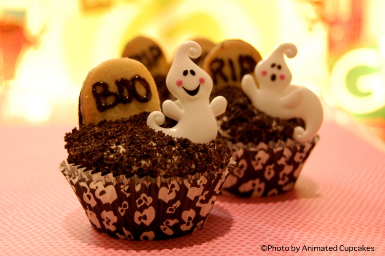 Boo Cupcakes