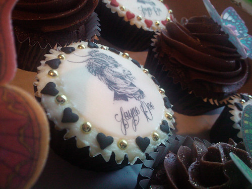 Cupcakes for the Jayne Doe Tattoo Crew