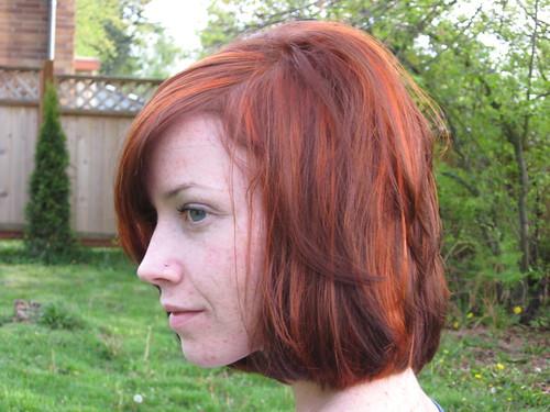 Red+orange+hair+highlights