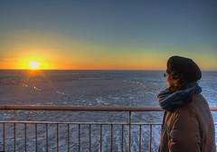 L'infinito / Infinity (Fil.ippo) Tags: gulf finland golfo finlandia ghiaccio ice sea mare sunset tramonto filippo d5000 hdr wedding anniversary anniversario matrimonio filippobianchi