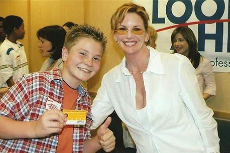 Jacob Nelson and Melissa Gilbert (SAG Card!)