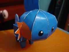Mudkip (Lipe Kiss) Tags: pokemon papercraft pepakura