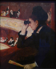 Cassatt's At the Opera