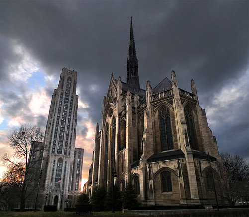 Cathedral of Learning and Heinz Chapel