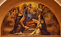 Sts. Dominic and Catherine (*Jeff*) Tags: church saint wisconsin star catholic basilica mary jesus catherine milwaukee rosary dominic josaphat