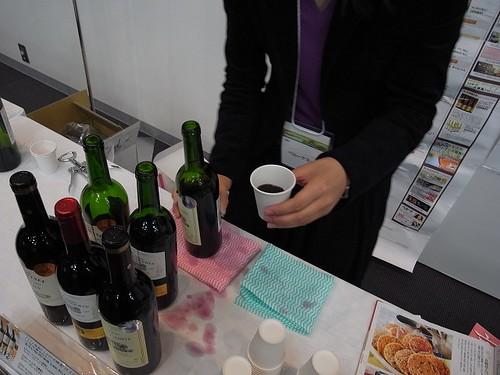 ワイン試飲