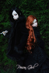 Ashlar & Rowan - DOT Lahoo & DOT Shall (-Poison Girl-) Tags: black doll goth dot sd bjd dollfie superdollfie rowan shall dreamofdoll balljointeddoll ashlar lahoo dotshall dotlahoo dodshall dodlahoo