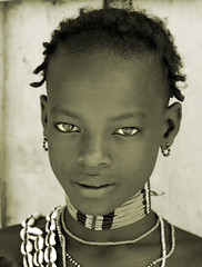 Ethiopia, young man of Banna tribe (Dietmar Temps) Tags: africa portrait people blackwhite eyes faces traditional culture tribal tribes afrika omovalley tradition ethiopia tribe ethnic beautifuleyes cultural hamer afrique ethnology omo banna cultur thiopien etiopia ethiopie blueribbonwinner loweromovalley southomo ethnie omoriver golddragon mywinners abigfave impressedbeauty theunforgettablepictures naturaleyes awardflickrbest spiritofphotography portraitlegends
