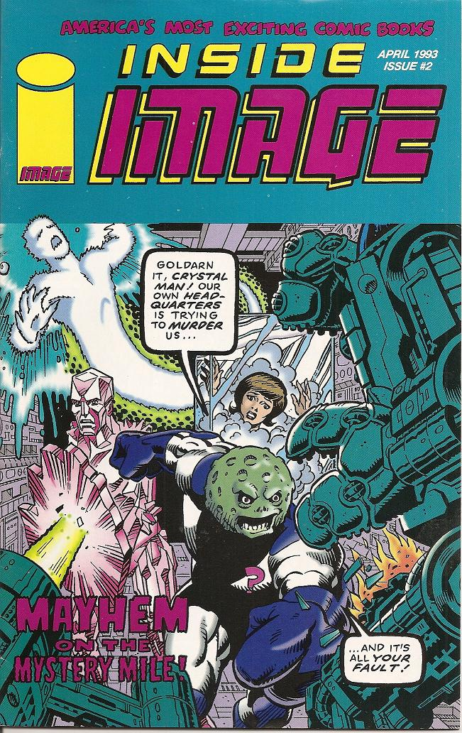 Inside Image 1993 Cover