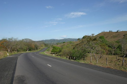 Smooth and uncomplicated cycling in western Panama...