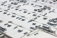 Marching ants (briyen) Tags: las vegas roof people big top center tiny convention huge worker vast aplusphoto