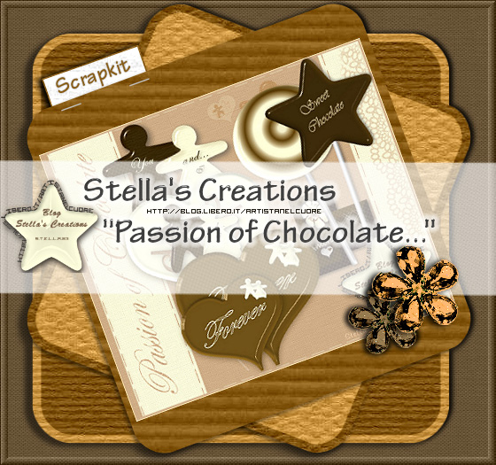Passion of chocolate - Blog Stella's Creations - http://sc-artistanelcuore.blogspot.com