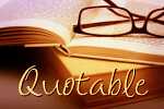 Quotable: Weekly Literary Quotations