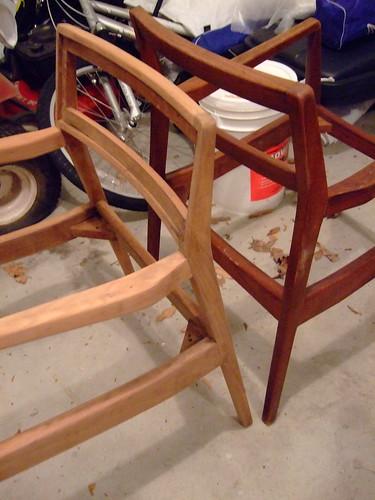 chair, stripped.