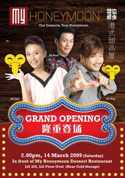 My Honeymoon Dessert Restaurant Grand Opening @ 1Utama