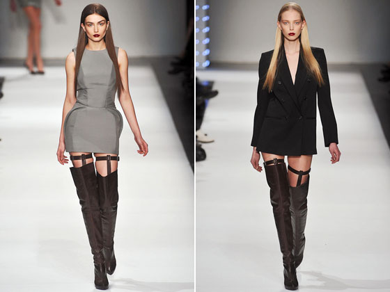 thigh length boots designer clothing