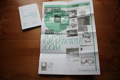 CV / Booklet / Poster 2009 ([GW] GrafikWar) Tags: