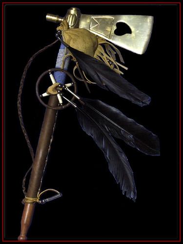 Tomahawk - Oeuvre d'Art,indiens,amerindiens,hache de guerre