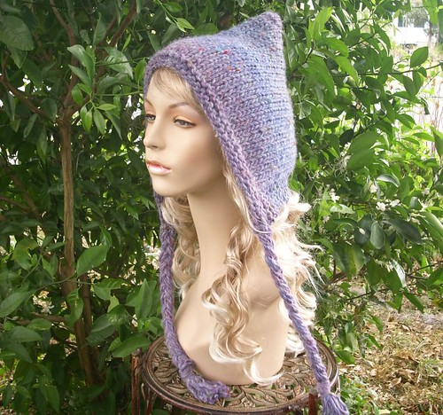 Free Knitting Pattern Pixie Hood : Its a Creative World: Crochet & Knittting