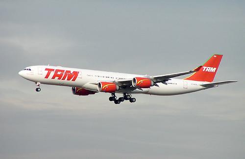 Airbus A340-500 TAM