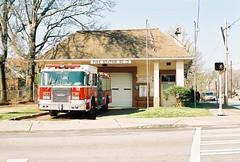 Fire Station No. 13 (lola smalls) Tags: atlanta film 35mmfilm analogphotography minoltasrt101 eastatlantavillage