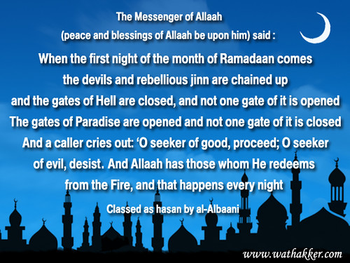 Fiqh : Actions that are to be Avoided While Fasting (Part 4) 3386757383_f059c8562f