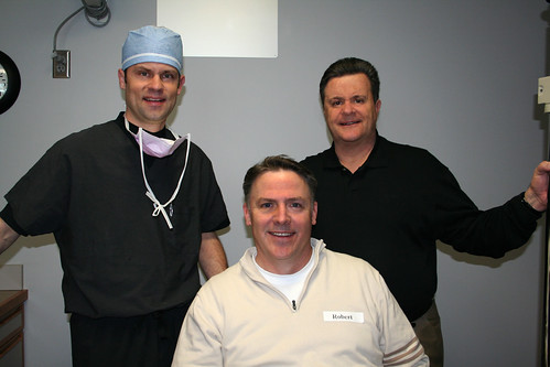 Bob Casper of Real Golf Radio after LASIK surgery at Hoopes Vision in Utah