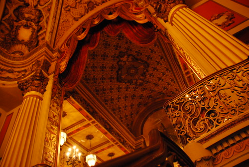 Los Angeles Theatre Mezzanine Ceiling