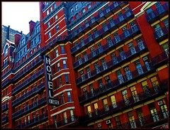 "The Chelsea Hotel (""alley cat photography') Tags: nyc interesting manhattan vibrant unique landmark 23rdst chelseahotel thisismycity heartofmanhattanintellegencia"