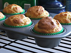 Maple and Bacon Muffins - Cooling