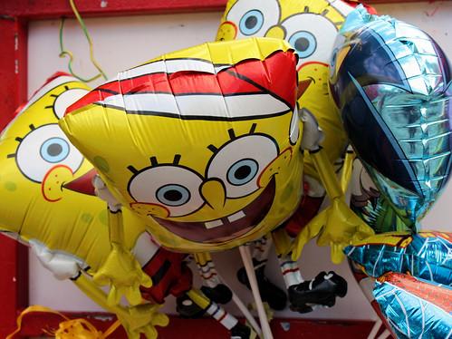 Spongebob Balloons // Ballons Bob l'Eponge