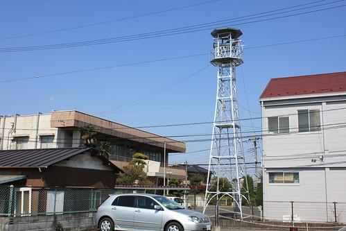 豊田新田の火の見櫓