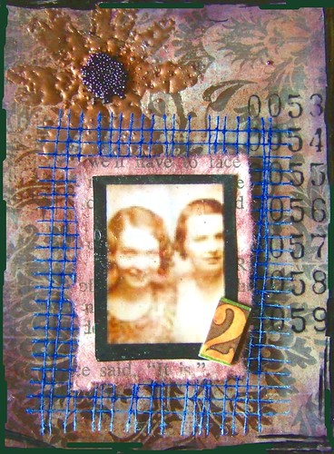 best friends forever ATC by cookievf