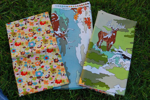 3 Fat Quarters: Lush & Wonderland