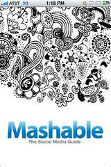 Mashable iPhone app
