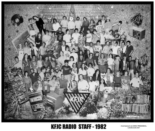 The KFJC group shot by Eric Predoehl