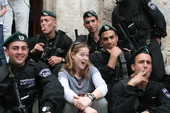 The poleece Always comin' late if they come at all! (Jewlicious) Tags: israel jerusalem goodfriday austrianhospice oldcityofjerusalem israelborderpolice