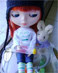 Fim de Pscoa - 02 (Mari Assmann) Tags: rabbit toy doll plastic blythe   mm boneca juliana coelho takara jouet valentina sbl plstico poupe modmolly sonydscs730 natalhalessa
