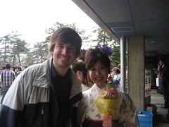 Nahoko at graduation (jrkester) Tags: japan hirosaki