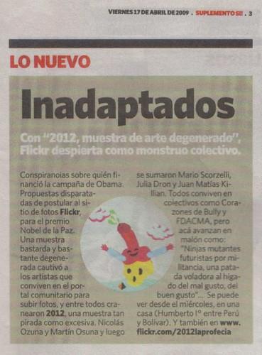2012 en S! gracias  tortugachina by Mosterdamus_2012