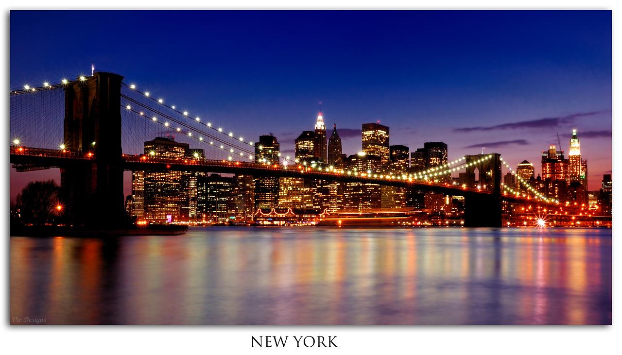 Puente de Brooklyn - Nocturna - Comunidad Nikonistas