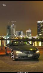 BMW 645ci (Talal Al-Mtn) Tags: sea cars car night marina 645 bmw kuwait ci q8 kwt bmw645ci talalalmtn  bmwinkuwait