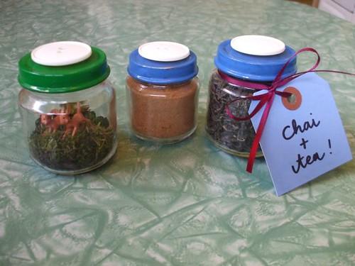 terrarium + tea kit