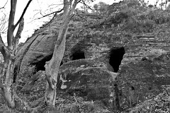 Nanny's Rock, 2009 (richboxfrenzy) Tags: sandstone witch caves rockhouse staffordshire westmidlands kinver highwayman nikond40 nannysrock megofoxhole