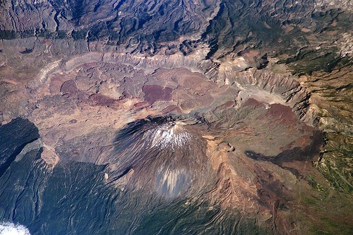 Mount Teide in Tenerife is a dormant Volcano